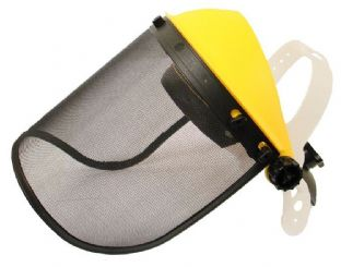 Mesh Safety Visor Shield Strimmers, Brushcutters, Chainsaws